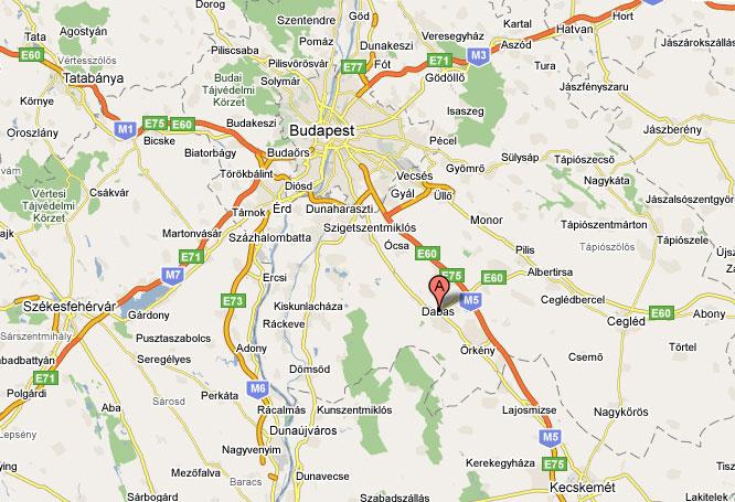 dabas térkép DABAS.HU Dabas Város Önkormányzatának weboldala   Információk dabas térkép